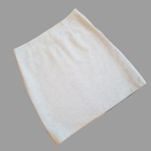 RENE LEZARD 100% Cashmere Skirt